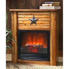 guide rustic concealment electric fireplace lexington mantel