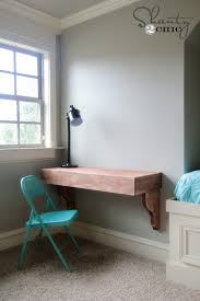 Corbels For Shelves Diy Corbel Desk For 85 Shanty 2 Chic