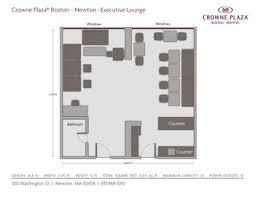 boston hotel floor plans crowne plaza boston newton