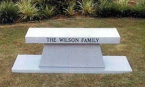 cremation benches memorial monuments of midland a service monument company