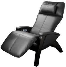 Black Leather Recliner Chairs Svago Sv401 Zg Zero Gravity Recliner Chair