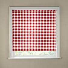 vertical blinds amazon black friday buy 4ft red gingham kitchen roller blind at argos co uk visit