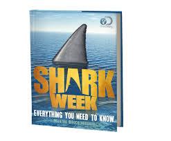 shark week hardcover book discovery kids