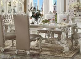 versailles dining room versailles 96 inch dining room set bone white formal dining sets