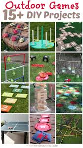 backyard diy games outdoor furniture design and ideas