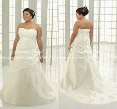 cheap plus size wedding dress twd077 new design sweetheart applique ivory plus size bridal