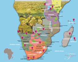 Rwanda Africa Map by Downloads