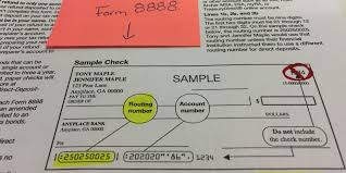 nissan finance routing number direct deposit for tax refunds can go very wrong