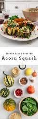 quinoa thanksgiving recipes quinoa salad stuffed acorn squash recipe love and lemons