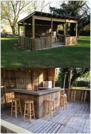 Simple Backyard Patio Designs by Backyards Trendy Wooden Outdoor Bar Ideas Small 120 Simple