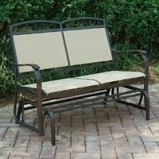 Patio Furniture Glider by Outdoor Gliders U0026 Benches You U0027ll Love Wayfair