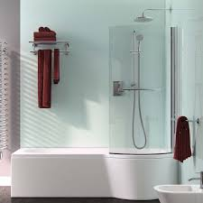 armourcast arco 1500mm shower bath right or left hand inc leg