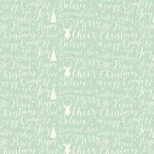 Words Of Comfort At Christmas Christmas Words In Light Green Cotton Fabric From The Comfort