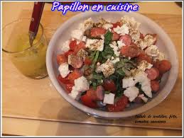 tomates cuisin s recette salade de lentilles féta tomates saucisses papillon
