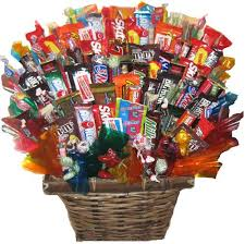 candy basket delivery the sweetest candy gift basket at from you flowers