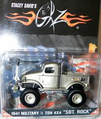 monster trucks tv show 1941 military 1 2 ton 4x4 truck stacey david u0027s gearz sgt rock
