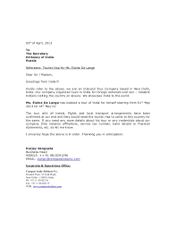 bunch ideas of sample recommendation letter for business visa also