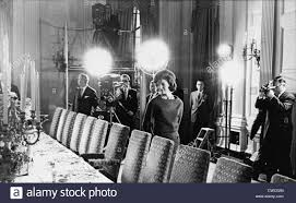 White House Dining Room Jacqueline Kennedy In The State Dining Room During A Taped Tour