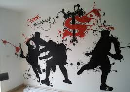 stickers pas cher pour chambre stickers muraux chambre bebe pas cher 6 d233co chambre ado rugby