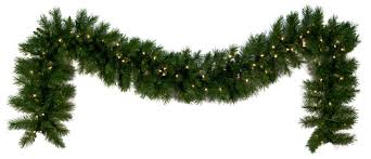 christmas garland lighted christmas garland dunhill fir prelit led christmas garland