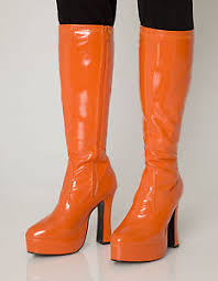 size 11 boots in womens is what in mens orange gogo boots womens retro knee high platform boots size 11