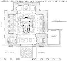 floor plan of the sistine chapel pitts digital image archive