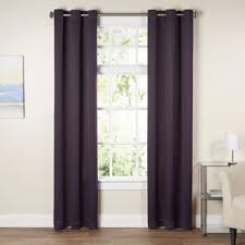 Purple And White Curtains Purple Curtains Drapes You Ll Wayfair