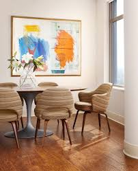 modern dining room art dishy abstract art ideas hall contemporary with white carpet crown