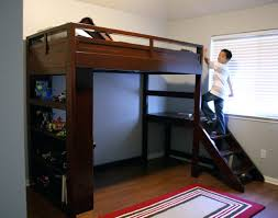 loft bed with closet loft beds closet loft bed camp w stairs do it yourself home