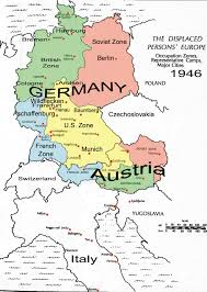 Map Of Austria And Germany by Estonia Paradise Of The North Estonians In Displaced Persons