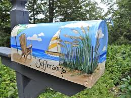 beach themed mailbox u2014 home design stylinghome design styling