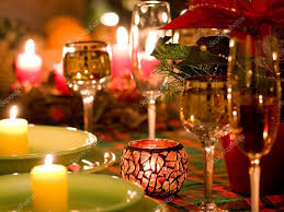 christmas place setting u2014 stock photo pitrs10 4232979