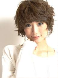 curly short hairstyles for asian women medium haircut