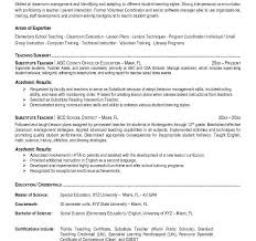 Reading Teacher Resume Tasty Subsitute Teacher Resume Strikingly Resume Cv Cover Letter