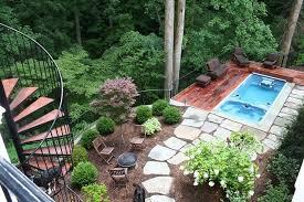 Steep Sloped Backyard Ideas Steep Sloped Backyard Ideas Side Yard Landscaping Ideas Steep
