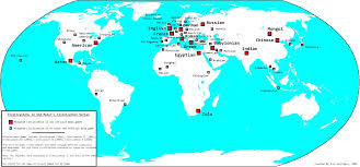 Aztec Empire Map Map Of Playable Civilizations In Sid Meier U0027s Civilization Series