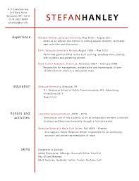 opening statement resume final resume design it