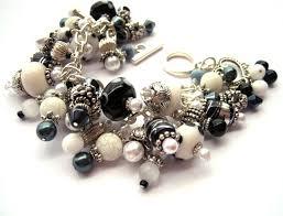 black beaded charm bracelet images 104 best cluster bracelets images charm bracelets jpg