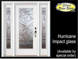 Impact Exterior Doors Impact Glass Doors For Ta Florida Hurricane Protection