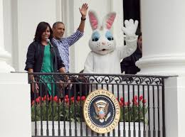 remembering sean spicer u0027s turn as the white house easter bunny