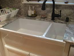 kohler farmhouse sink cleaning sink sink apron front kitchen sinks kohler farmhouse double bowl