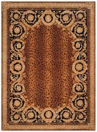 Brown Paisley Rug Rug Na712a Naples Area Rugs By Safavieh