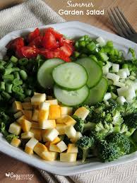 Garden Salad Ideas Summer Garden Salad Cozy Country Living