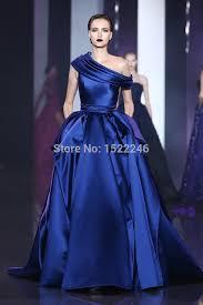 blue wedding dress designer dress designs royal blue wedding gowns a line satin ruched