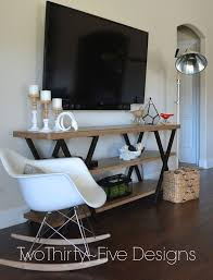 Tv Wall Furniture Best 25 Narrow Tv Stand Ideas On Pinterest House Projects