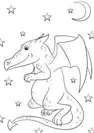 free printable dragon coloring sheets kids coloring pages