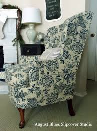 Wing Back Chair Slip Covers Inspiration The Slipcover Maker Page 2