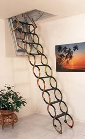 steel telescopic attic stairs calvertusa ideas for home