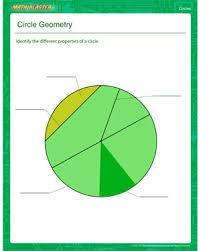 circle geometry u2013 free circle worksheet for third grade