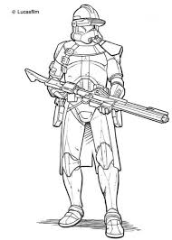 Star Wars Clone Trooper Coloring Pages Coloring Print Star Wars Wars Clone Coloring Pages